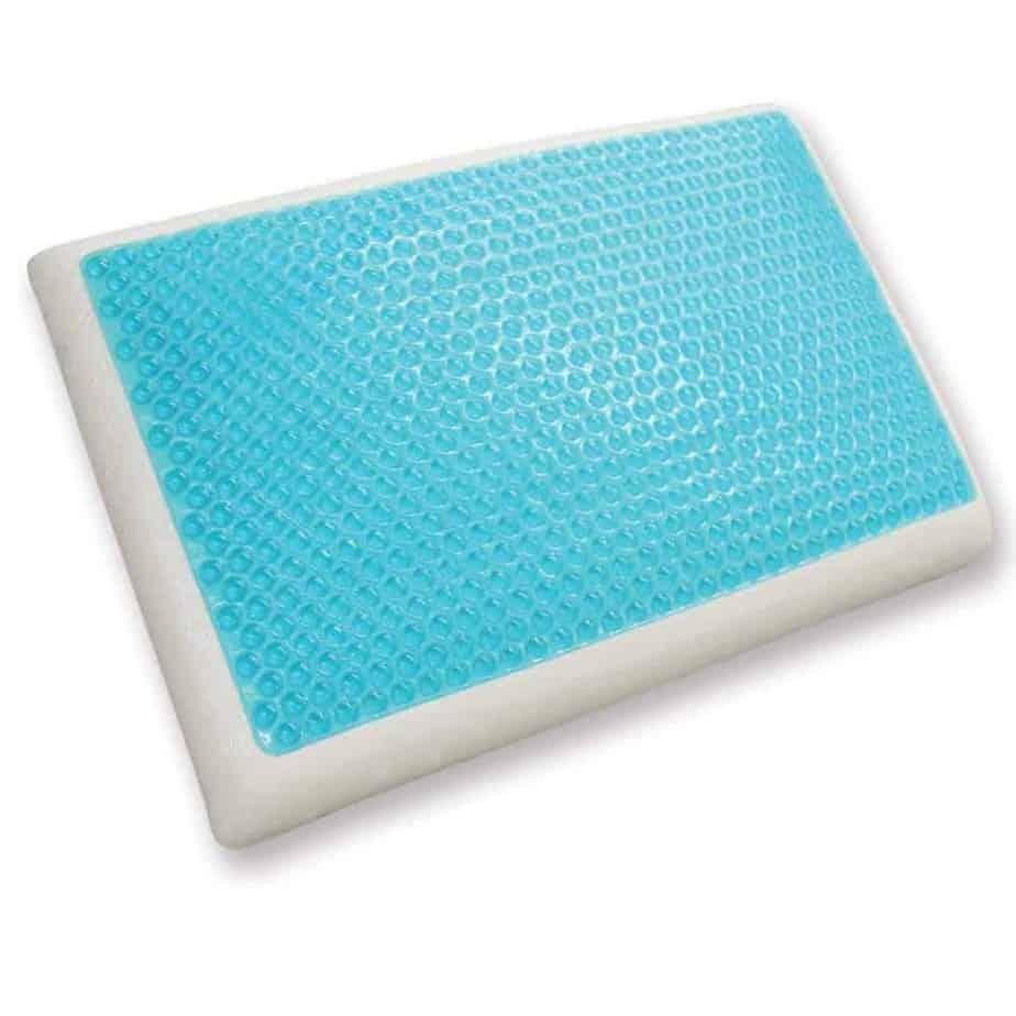 Classic Brands Reversible Cool Gel and Memory Foam Pillow Classic Brands