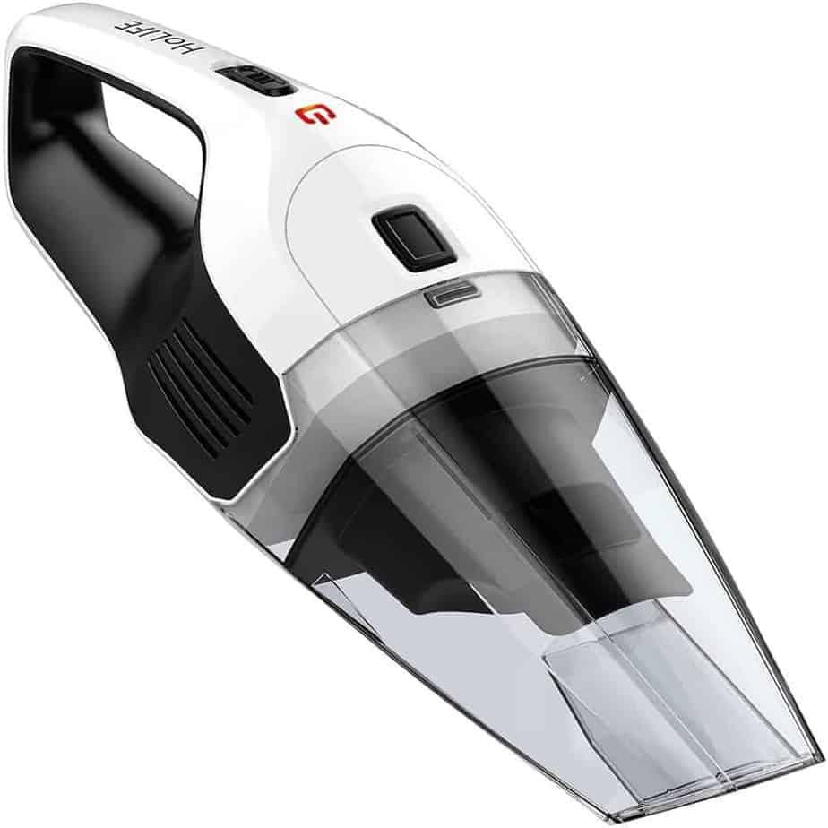 HoLife Cordless Hand Vacuum LSHLHM036BWUS-USAS6-V