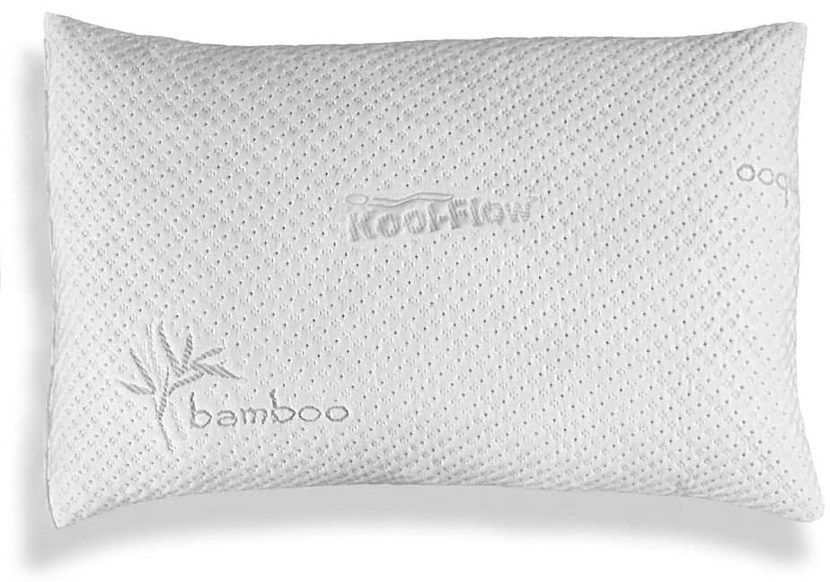 Hypoallergenic Bed Pillow for Side Sleeper - Kool-Flow Micro-Vented Bamboo Cover Xtreme Comforts