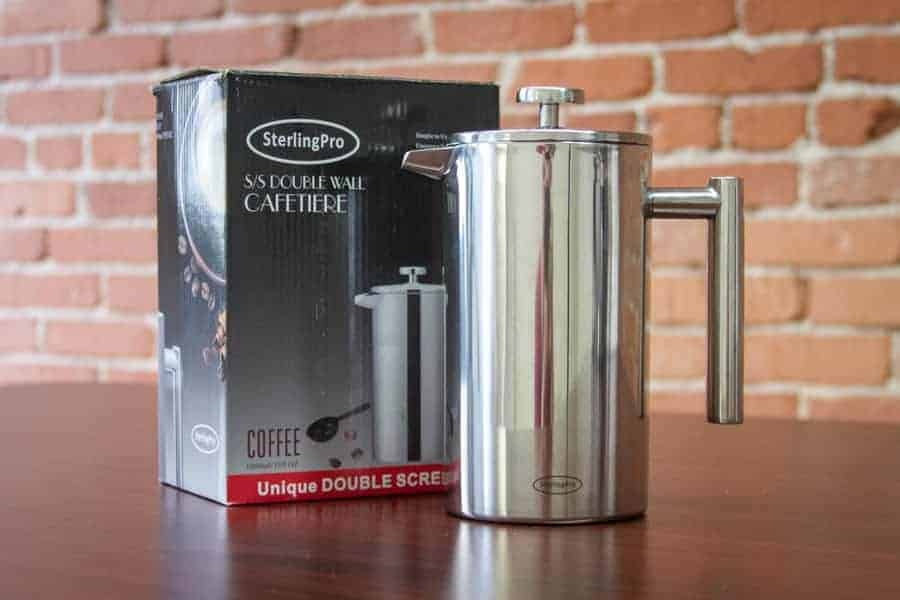 SterlingPro Double Wall Sterlingpro Double Wall Stainless Steel French Coffee Press