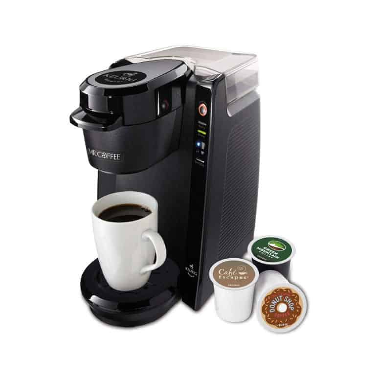 Mr. Coffee Single Serve Brewer Powered by Keurig