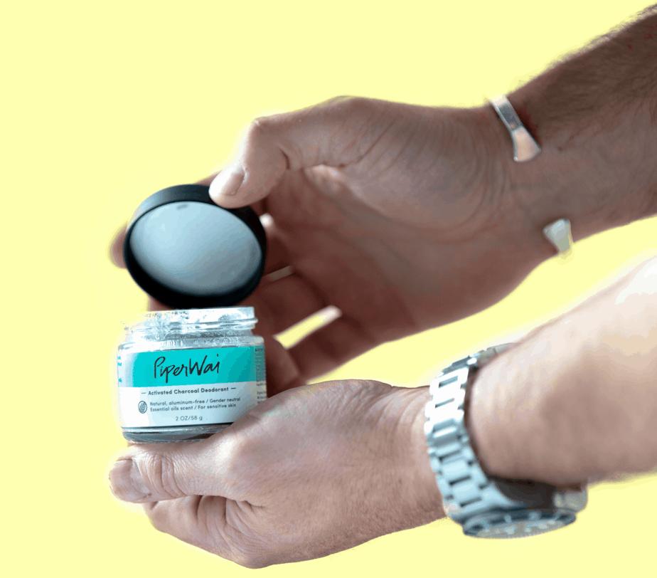 PiperWai Natural Deodorant Jar ($18)