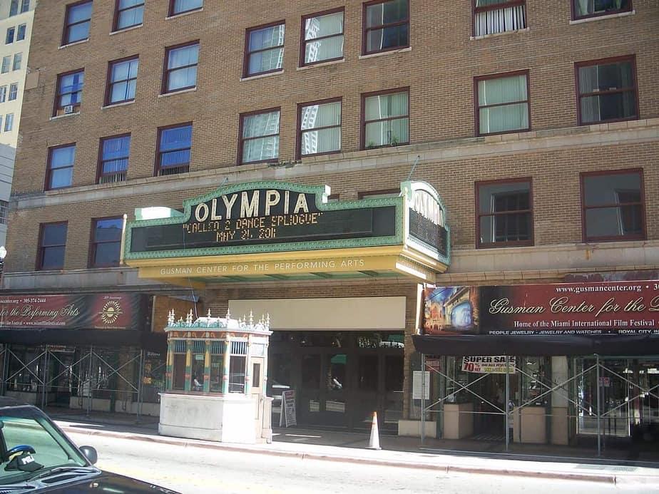 Olympia Theater Miami, FL
