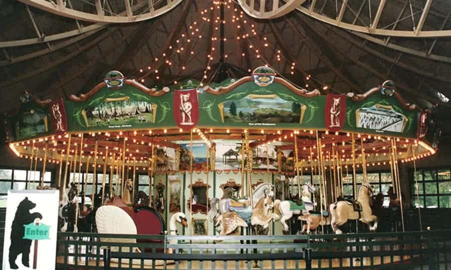 Bear Mountain Carousel • Bear Mountain, New York