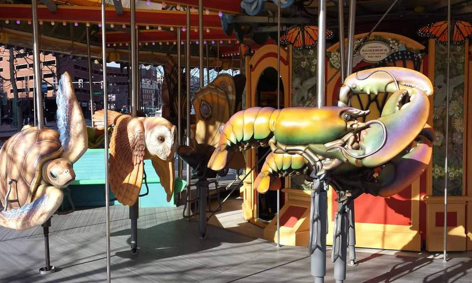 Boston Greenway Carousel • Boston, Massachusetts