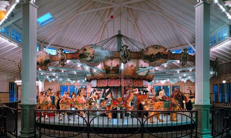 Dentzel Carousel • Meridian, Mississippi