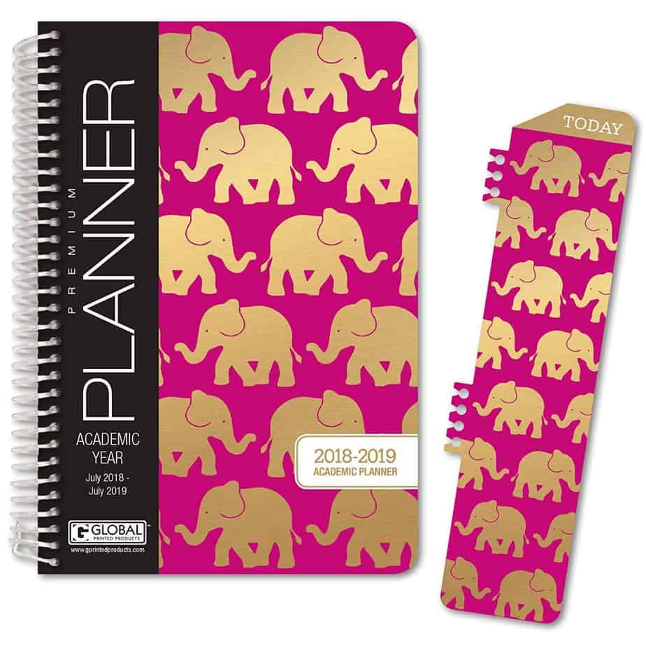 Hardcover Academic Year Planner by Global Printed Products