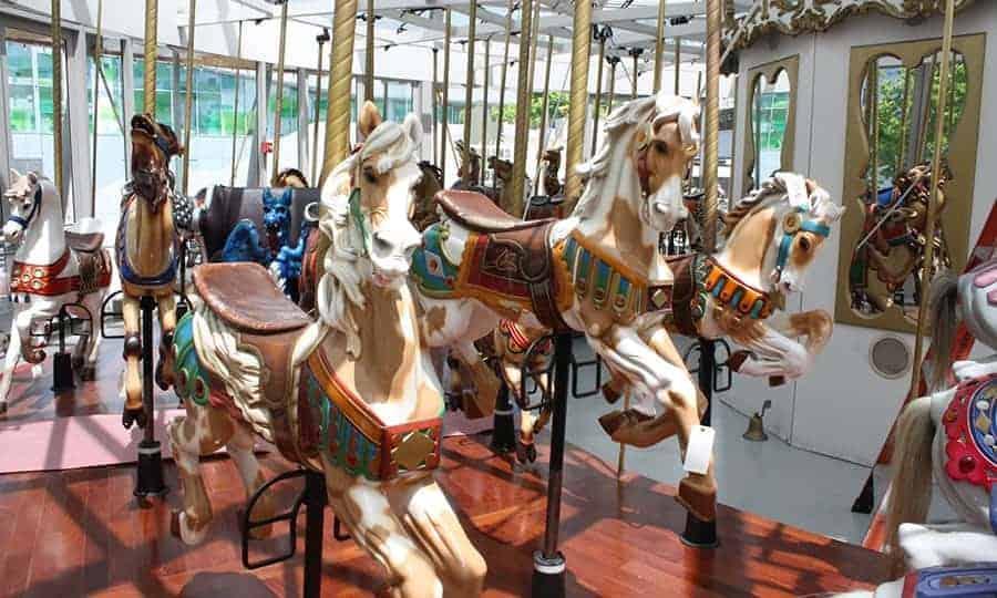 Yerba Buena Gardens Carousel • Long Beach, California