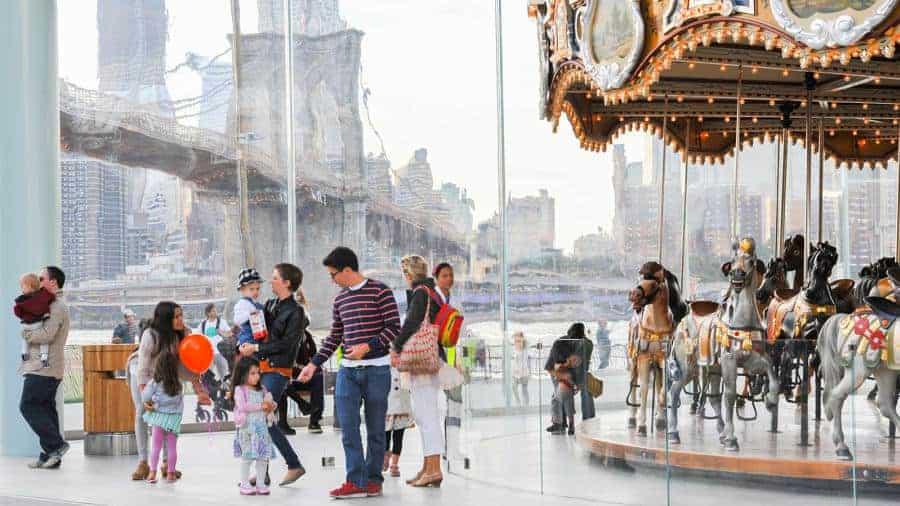 Jane's Carousel • Brooklyn, NY