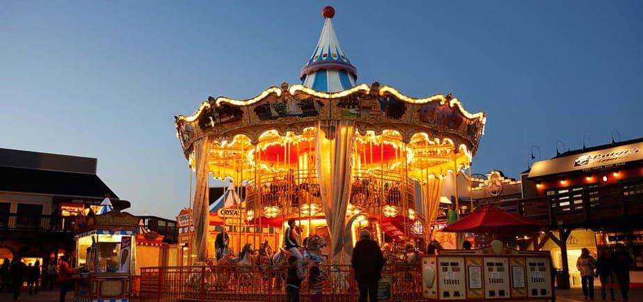 Pier 39 Carousel • San Francisco, California