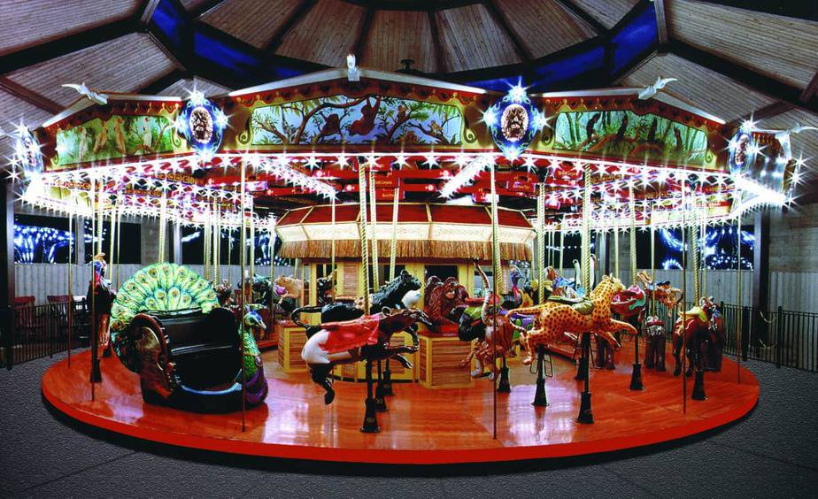 Endangered Species Carousel at the Fort Wayne Childrens Zoo