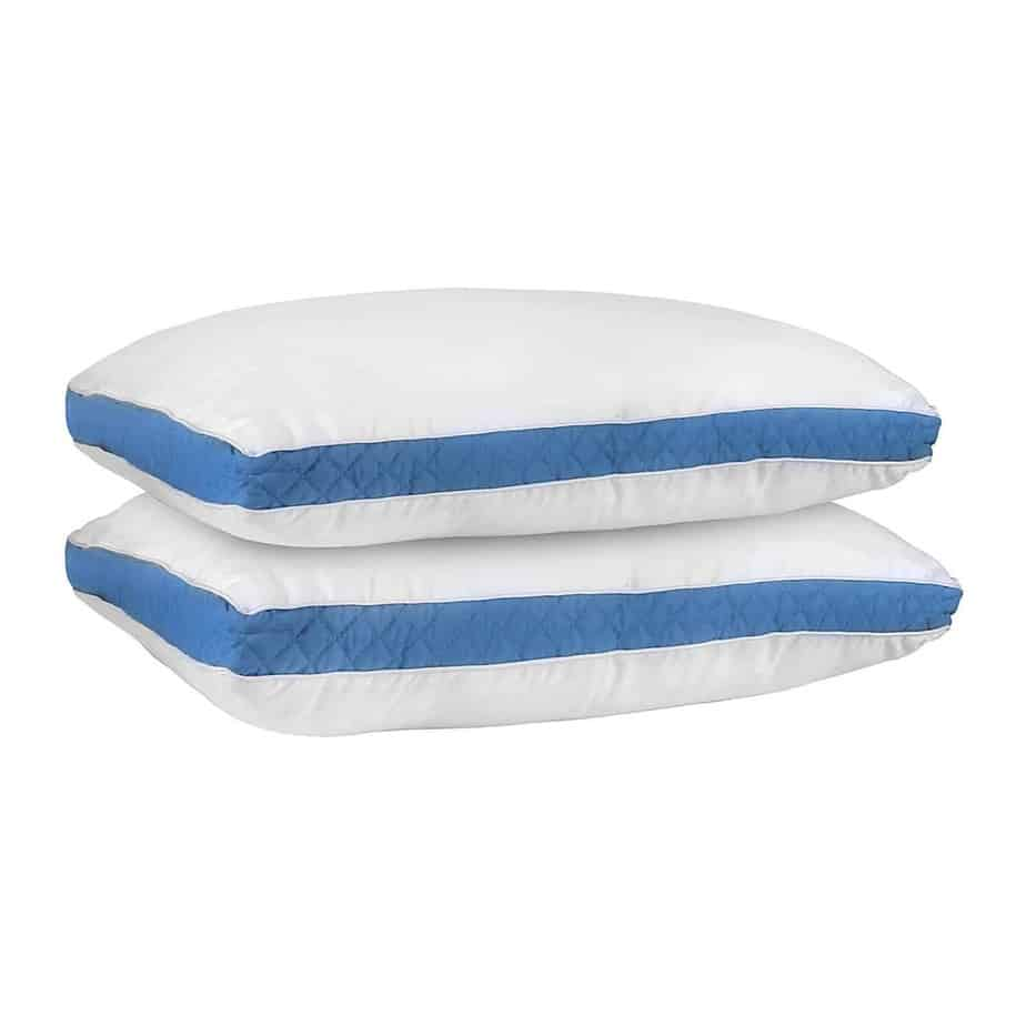 Gusseted Quilted Pillow by Utopia Bedding