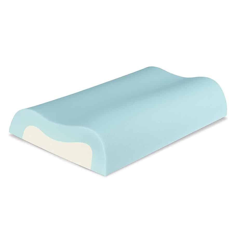 Sleep Innovations Cool Memory Foam Contour Pillow