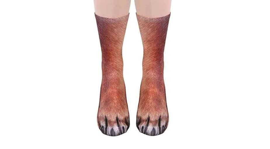 Funny Animal Paw Socks