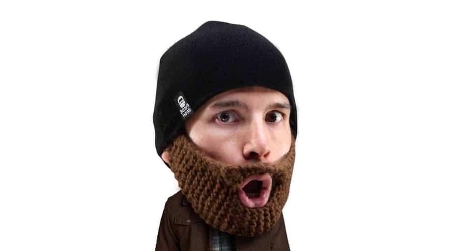 Beard Head Stubble Populous Beard Beanie