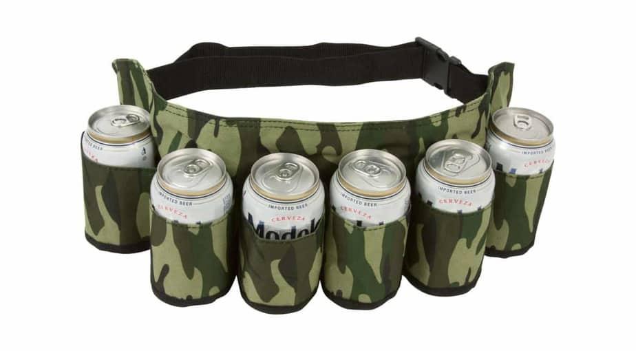 EZ DRINKER Beer & Soda Can Holster Belt
