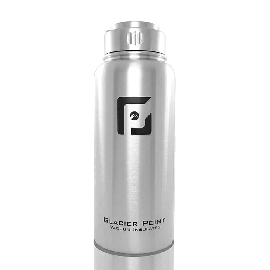 GlacierPoint Vacuum Insulated Stainless Steel Water Bottle
