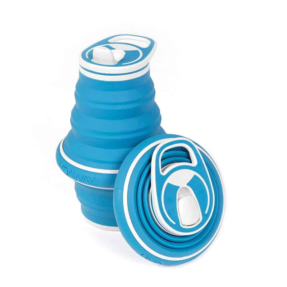 HYDAWAY Collapsible Pocket-sized Travel Water Bottle