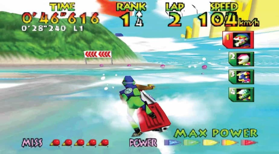 Wave Race 64: Kawasaki Jet Ski