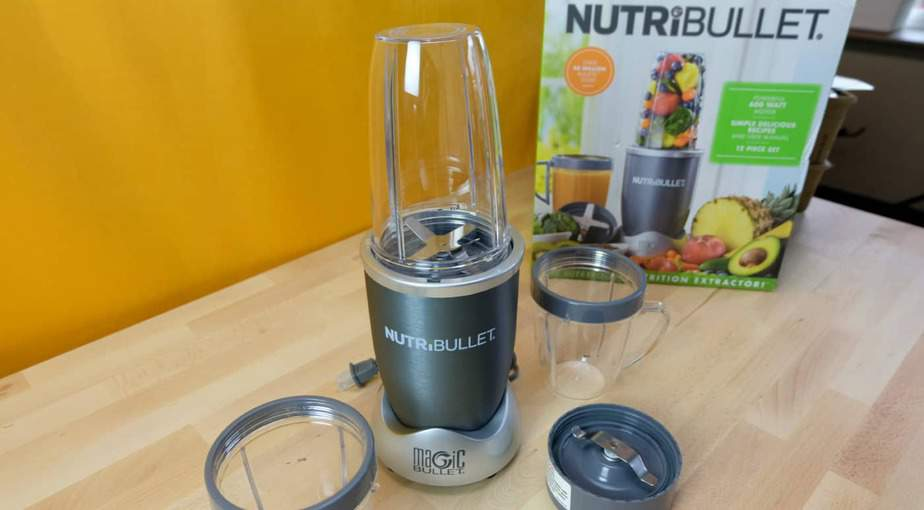 Nutribullet unboxed