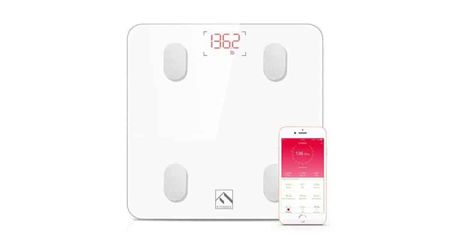FITINDEX Smart Wireless Digital Bathroom Weight Scale