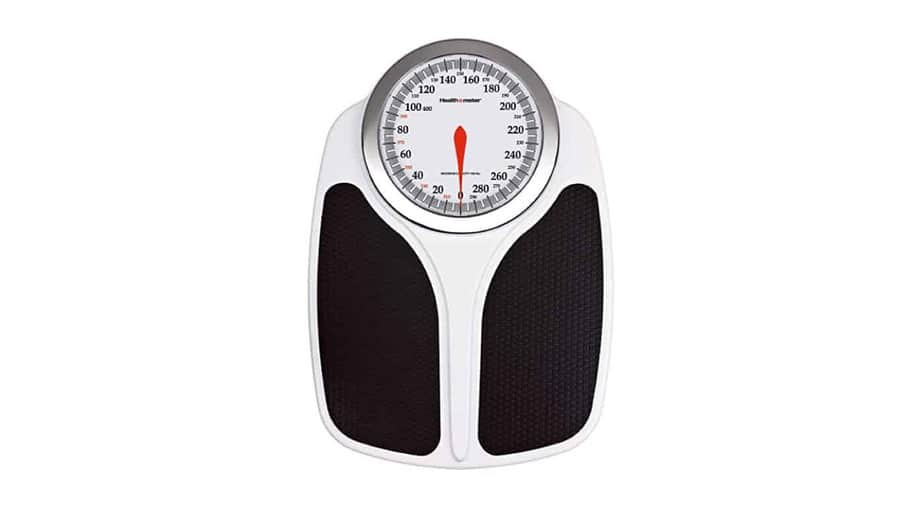Health o Meter Analog Oversized Dial Bathroom Scale
