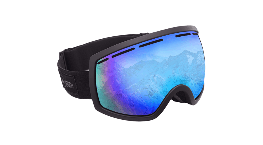 Tough Outdoors Dual-Layer Lens Goggles for Skiing