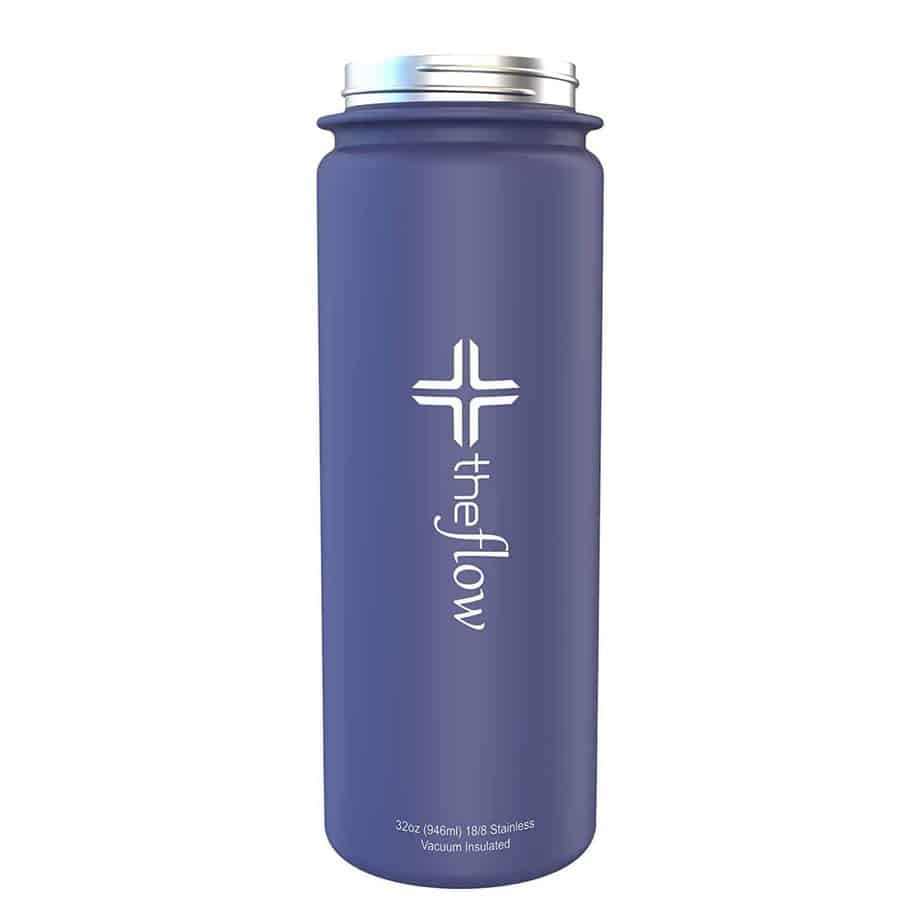 The Flow Stainless Steel Water Bottle