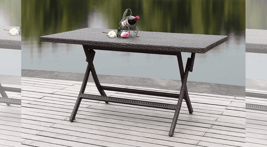 Safavieh Dilettie Outdoor Folding Table