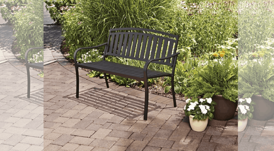 Mainstays Slat Outdoor Garden Bench