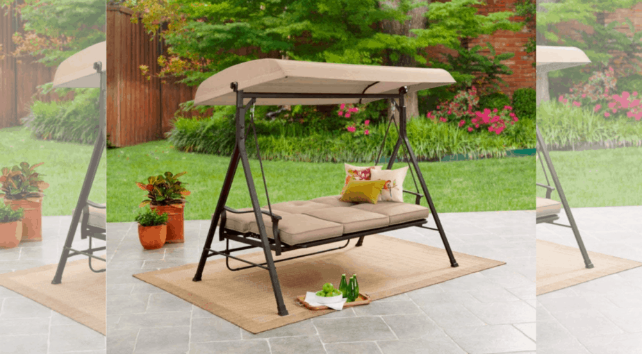 Mainstay 3-Seat Porch & Patio Swing