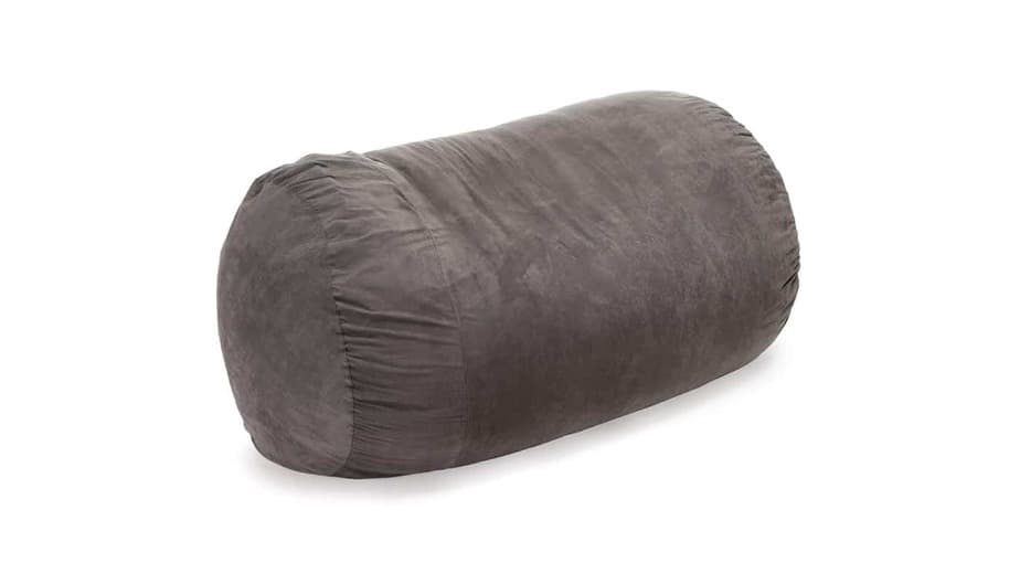 David Faux Suede 8 Foot Lounger Bean Bag