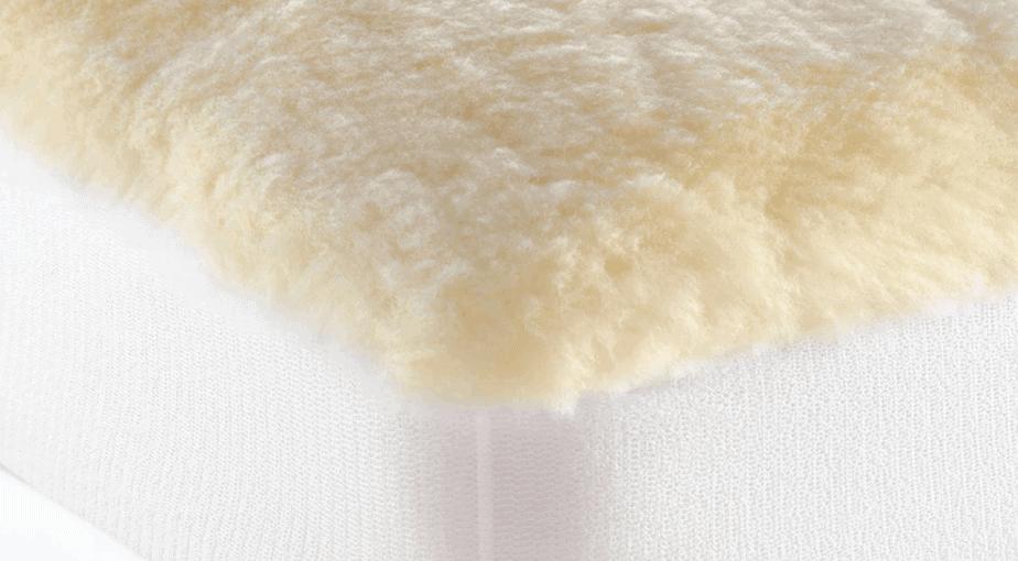 Cuddledown Plush Wool Fleece Mattress Topper