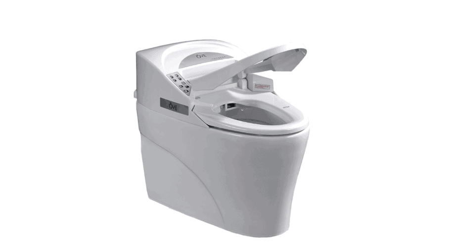 Ove Decors Remote Controlled Smart Toilet
