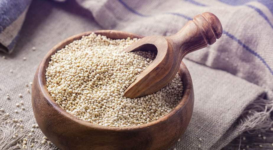 Compared to rye, wheat, and barley, quinoa comes with fewer carbohydrates.