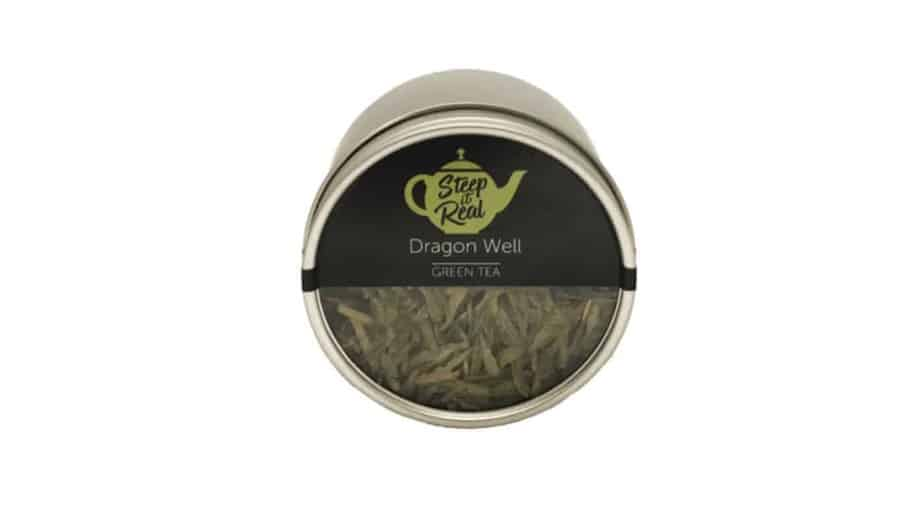 Dragon Well Green Tea by Steep It Real