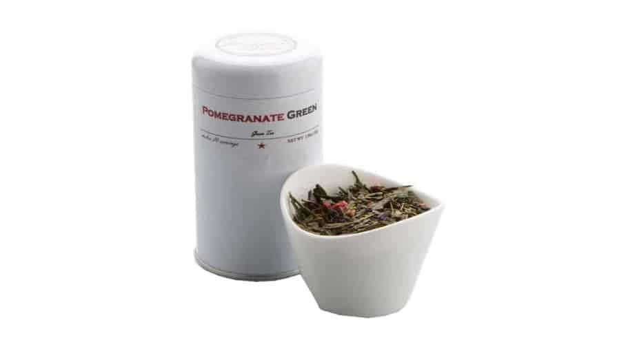 Pomegranate Green by Benjamin Tea