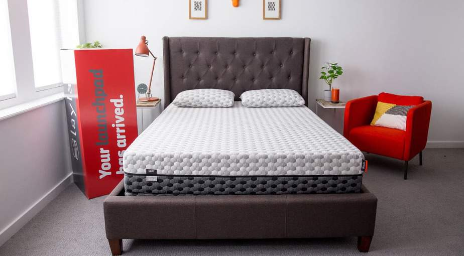 Your Layla Mattress arrives at your door in a large cardboard box.