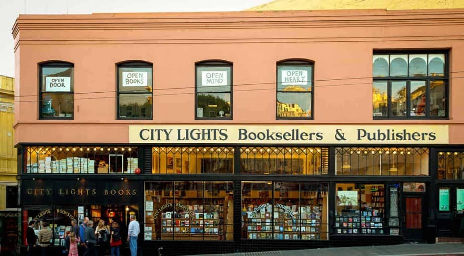 City Lights Booksellers & Publishers in San Francisco, CA