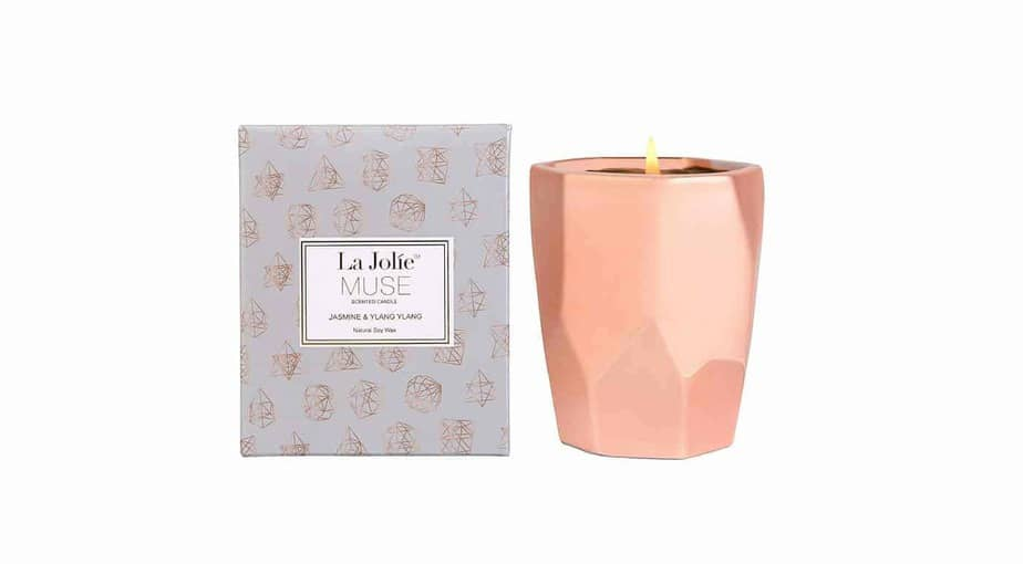 LA JOLIE MUSE Ylang Ylang Aromatherapy Scented Candle