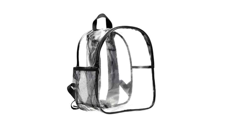 Magicbags Stadium Approved Clear Mini Backpack