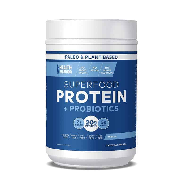 Health Warrior Superfood Protein Powder and Probiotic