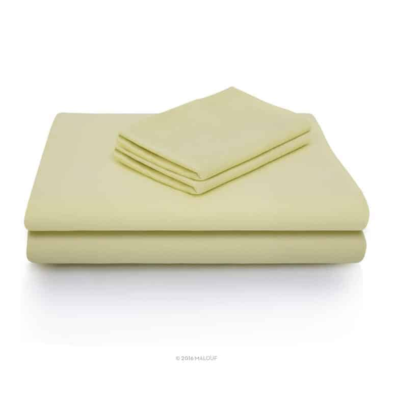 Malouf Woven Rayon from Bamboo Sheets
