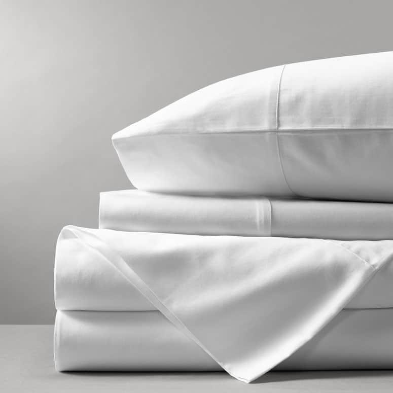 Boll & Branch Solid Hemmed Cotton Sheets
