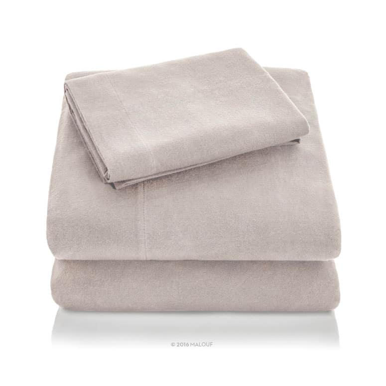 Malouf Portugese Flannel Sheet Set