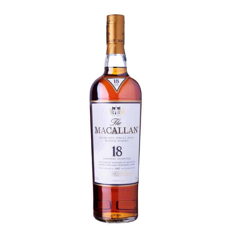 Macallan Sherry Oak 18 Year