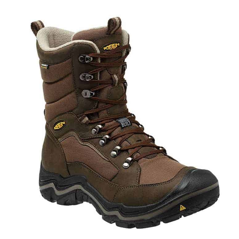 KEEN Durand Polar Waterproof Winter Hiking Boot