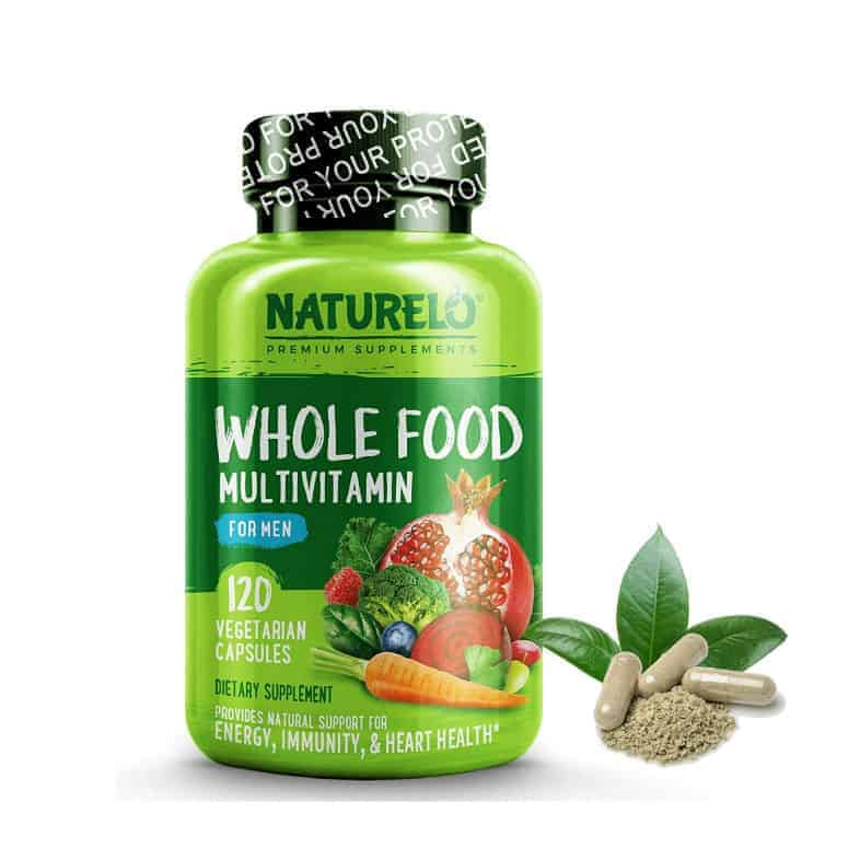NATURELO Whole Food Multivitamin for Men