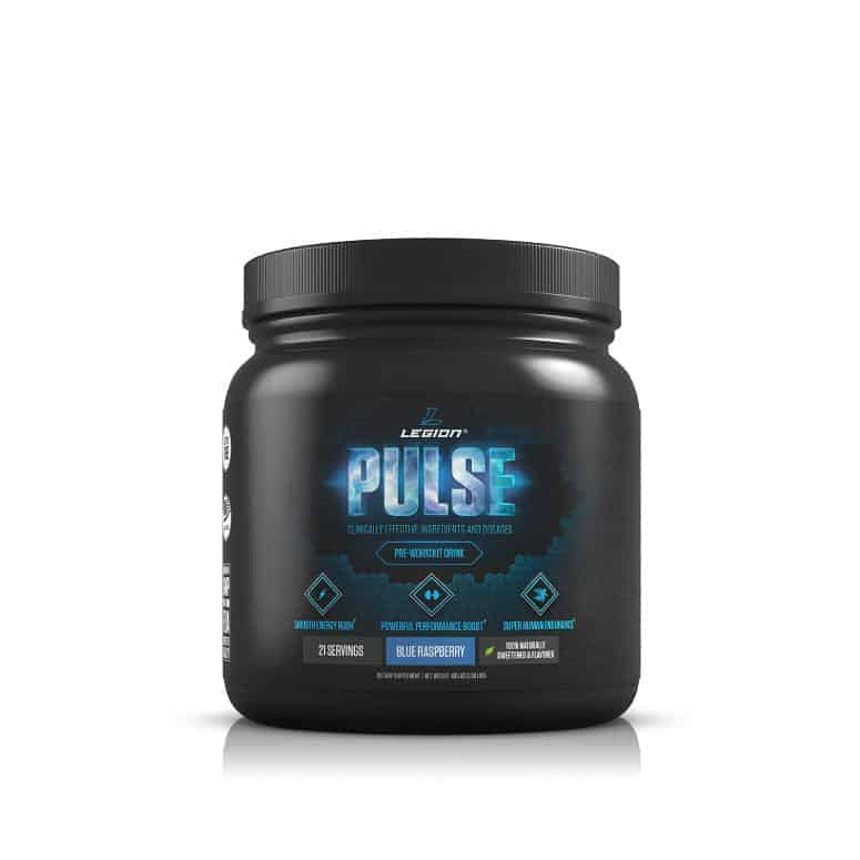 Legion Pulse All Natural Pre-Workout Supplement