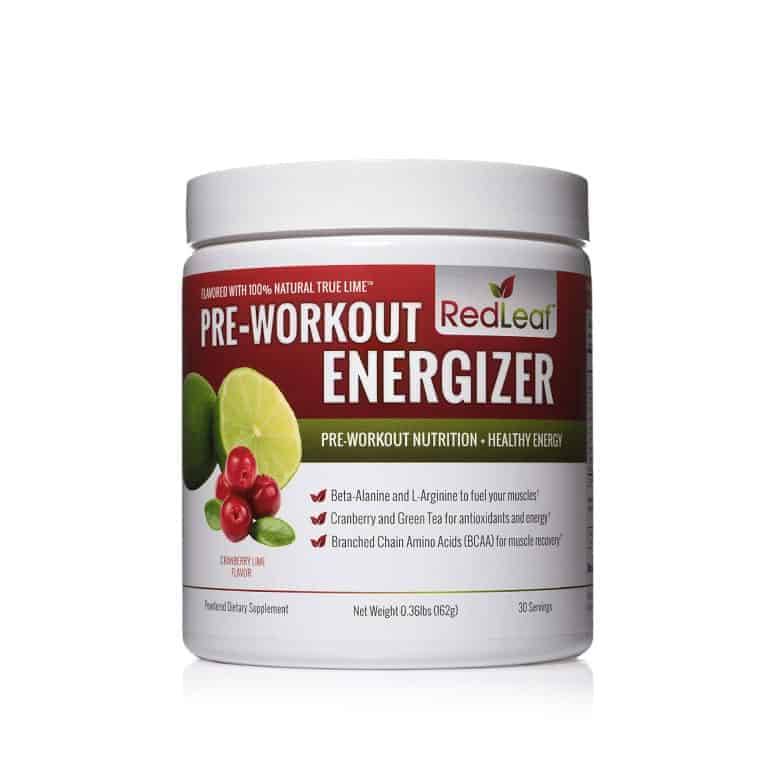Red-Leaf Pre-Workout Energizer